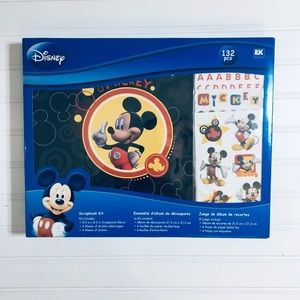 Mickey Mouse scrapbook